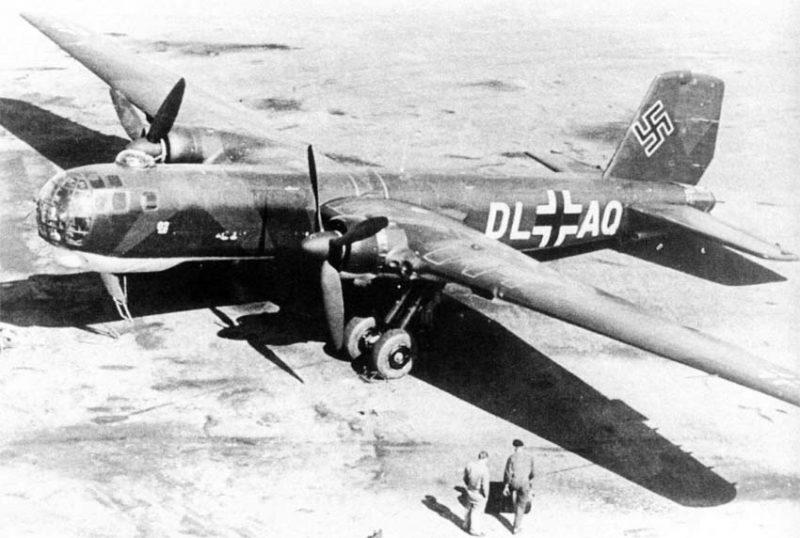 Бомбардировщик «Хейнкель» Не 177 - «Бомбер А»