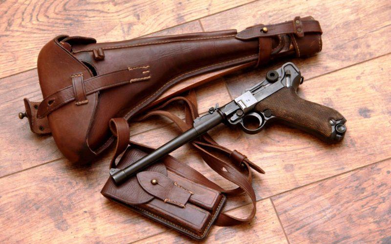 Пистолет Люгера - он же «Парабеллум»