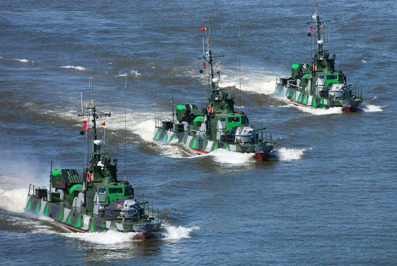 Пограничные катера проектов 205П, 1400 и 1204