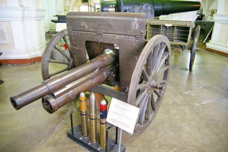 76-мм полевая пушка образца 1902 г. - безотказная «трехдюймовка»