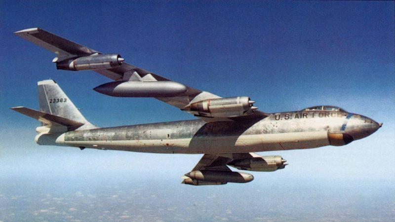 Стратегический бомбардировщик Боинг B-47 «Стратоджет»