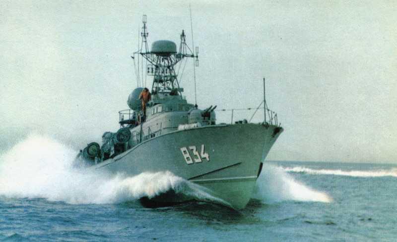 Большие торпедные катера проектов 206 и 206М