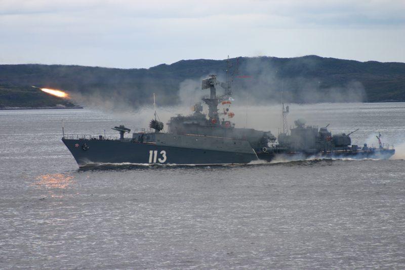 Малые противолодочные корабли проекта 1124 «Альбатрос» - на охране прибрежной зоны