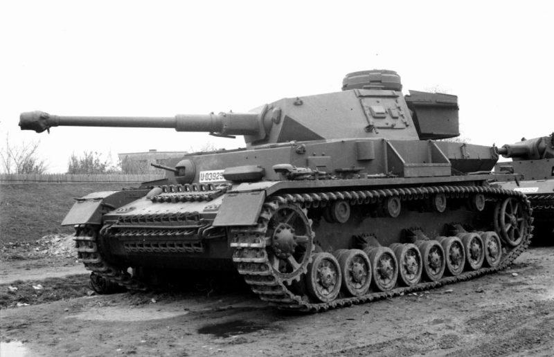 Средний танк Panzerkampfwagen IV - модификации