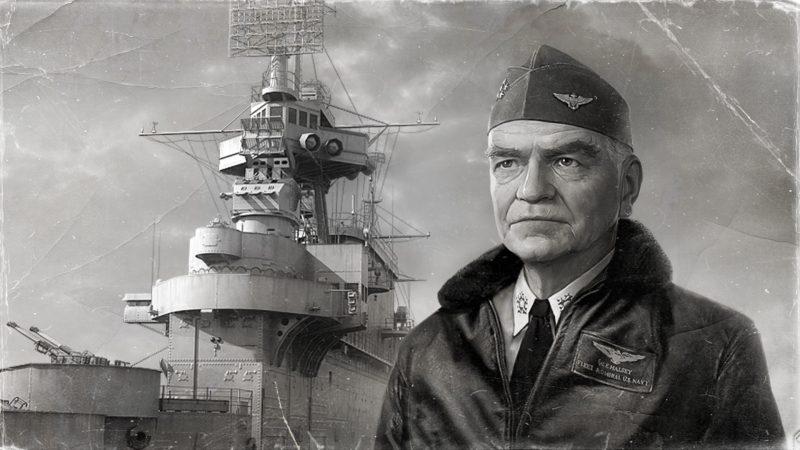 Уильям Хэлси - последний четырехзвездный адмирал