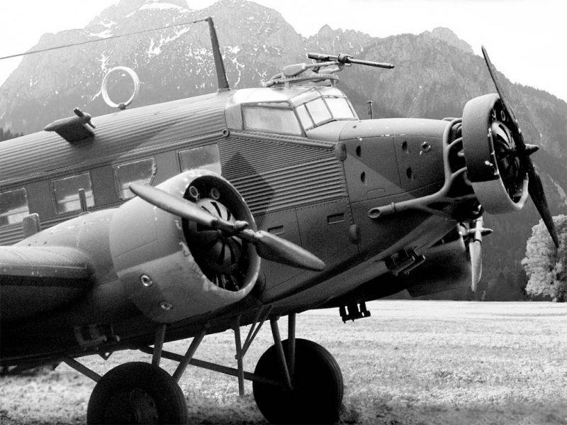 Самолет «Юнкерс» Ju 52/3m - «тетушка Ю» или «железная Анна»