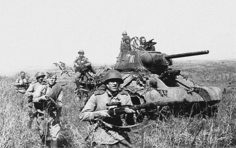 Крымская операция 1944 года - освобождение Крыма