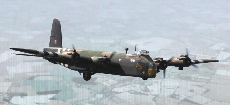 Тяжелый бомбардировщик «Шорт» S-29 «Стирлинг» - короткая карьера