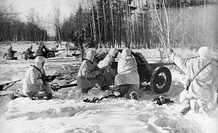 Операция «Тайфун» и оборона Москвы
