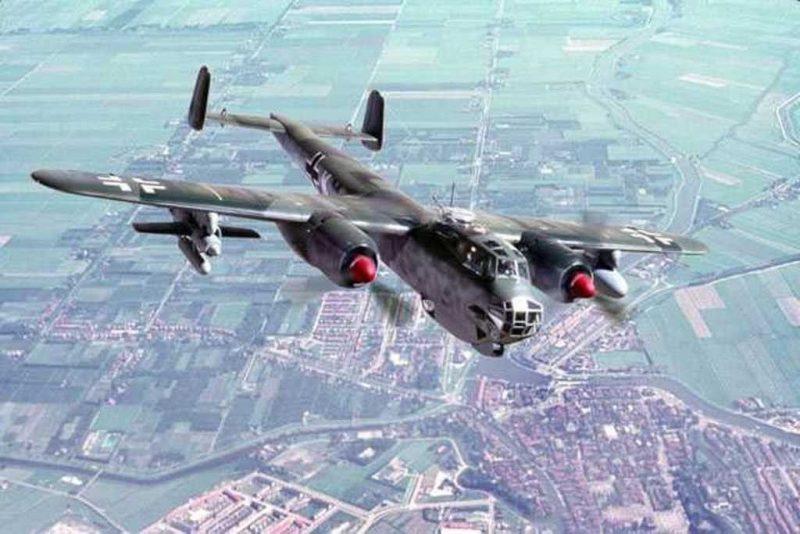 Многоцелевой бомбардировщик «Дорнье» Do 217