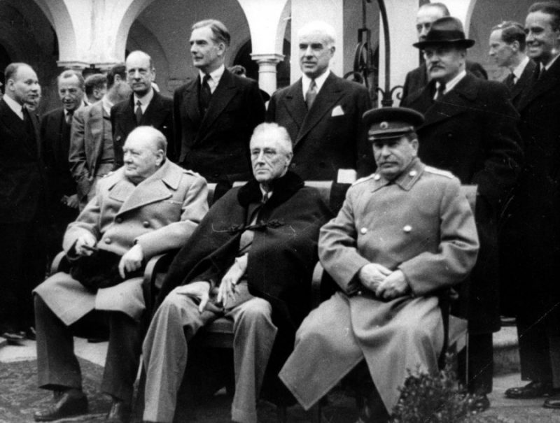 Формирование антигитлеровской коалиции