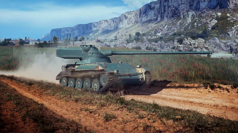 Легкий танк AMX-13 - необычная конструкция