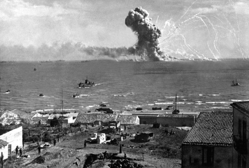 Высадка союзников на Сицилии. Капитуляция Италии
