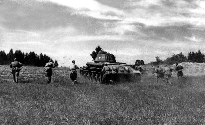 Общая обстановка на Восточном фронте к лету 1943 года