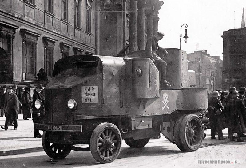 Бронеавтомобиль «Гарфорд» - трудяга времен Первой мировой