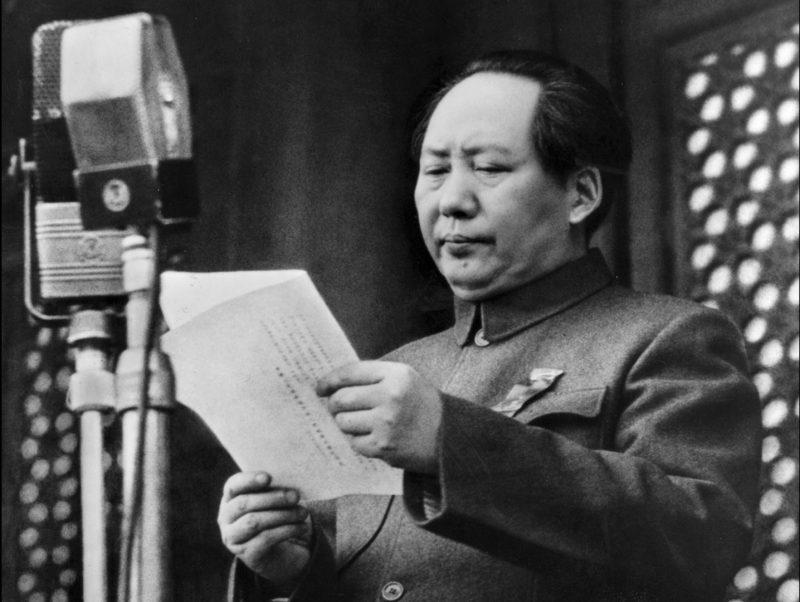 Мао Цзэдун - главный теоретик маоизма
