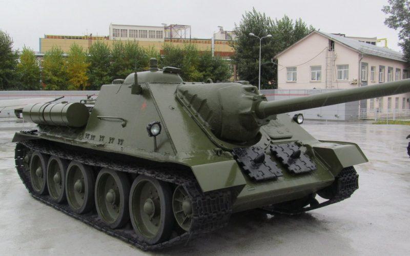 САУ СУ-85 - истребитель танков