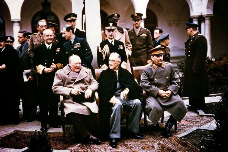 Ялтинская конференция «Большой тройки»