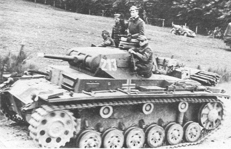 Средний танк PzKpfw III Ausf F