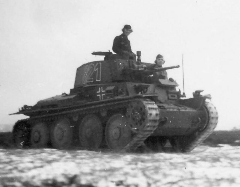 Легкий танк PzKpfw 38(t)