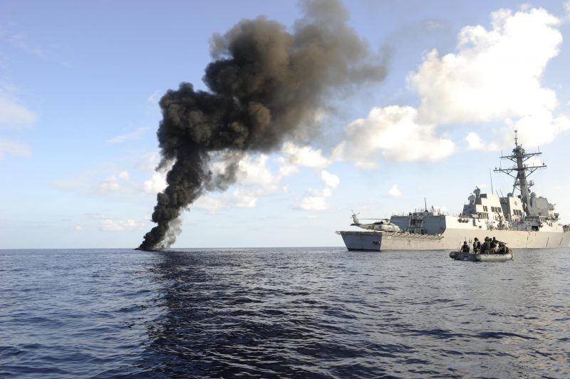 Операция «Оушен Шилд» - борьба с сомалийским пиратством