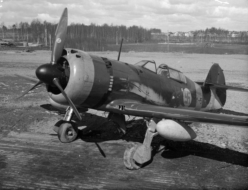 Истребитель VL «Мырски» - финская «Буря»