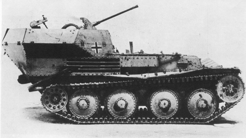 Легкий зенитный танк SdKfz 140