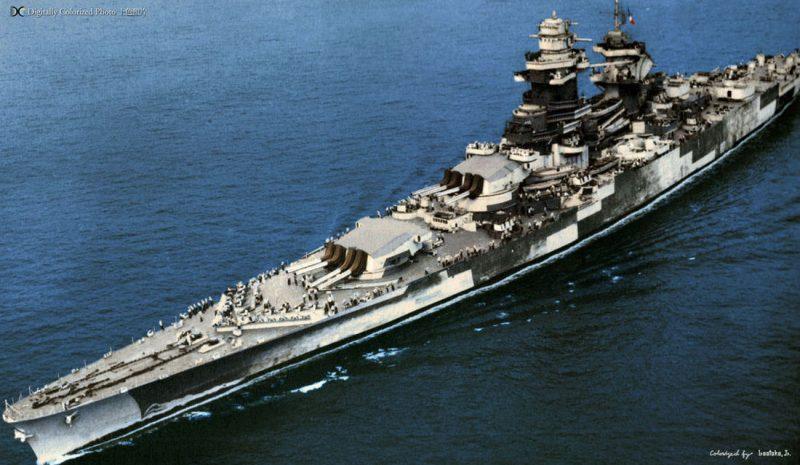 Линейные корабли типа «Ришелье» - баланс и совершенство