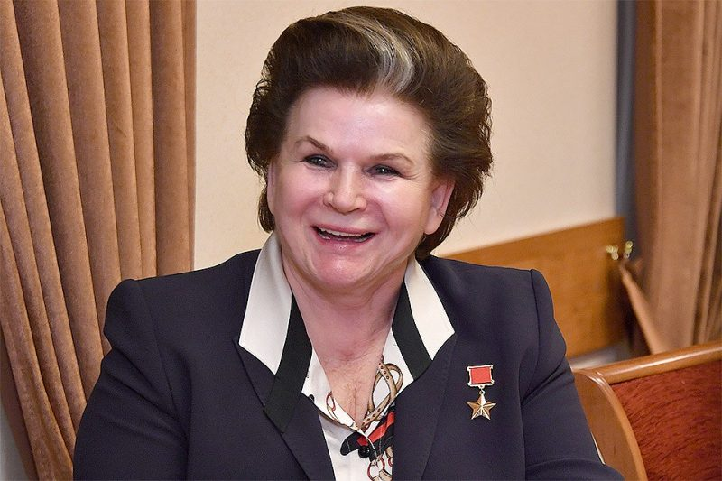 Валентина Терешкова - первая женщина-космонавт