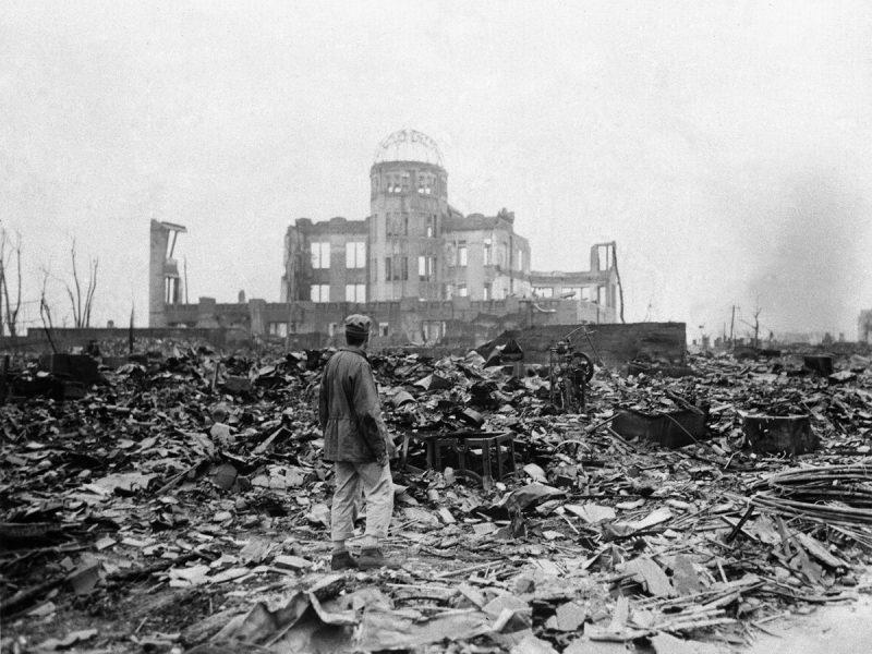 Ядерные бомбардировки Хиросимы и Нагасаки. Капитуляция Японии