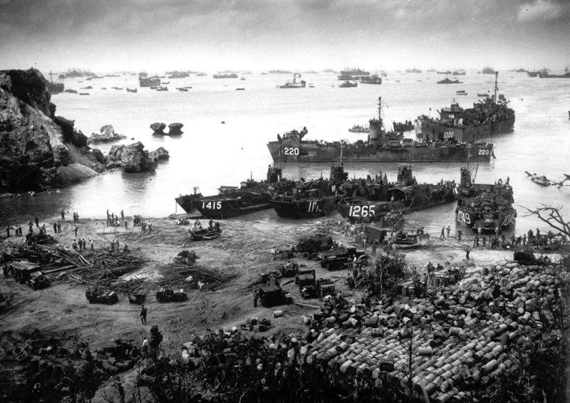 Стратегическая обстановка на Тихоокеанском ТВД в 1945 г.