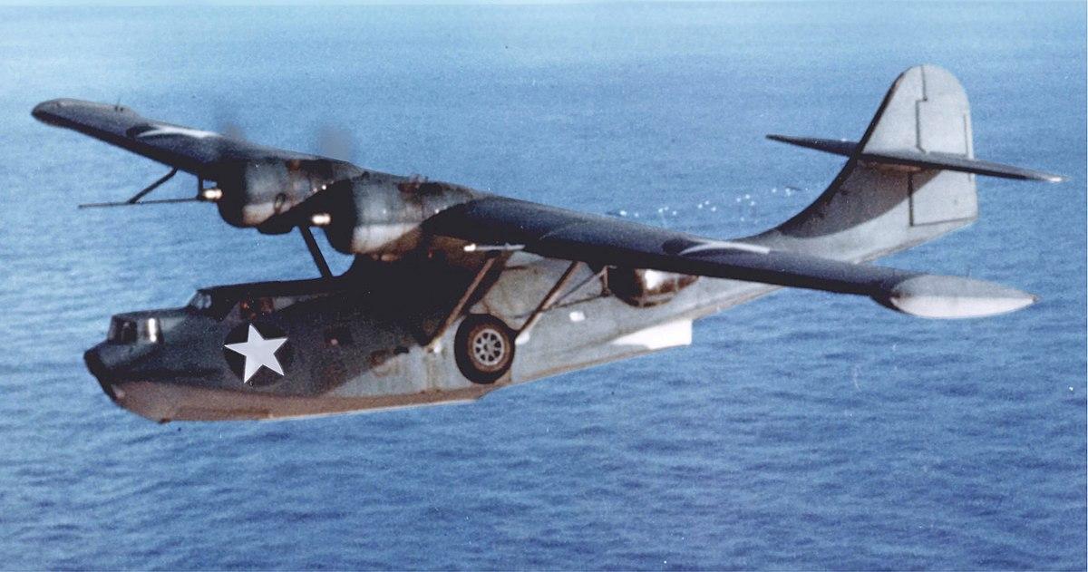 Консолидейтид PBY-5A «Кэталина» - морской патрульный бомбардировщик