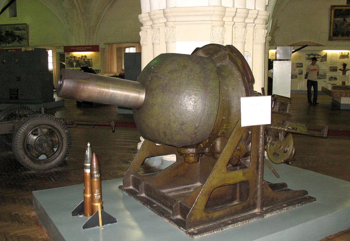 76-мм казематная пушка образца 1940 года - «Ленинградка» для укрепрайонов