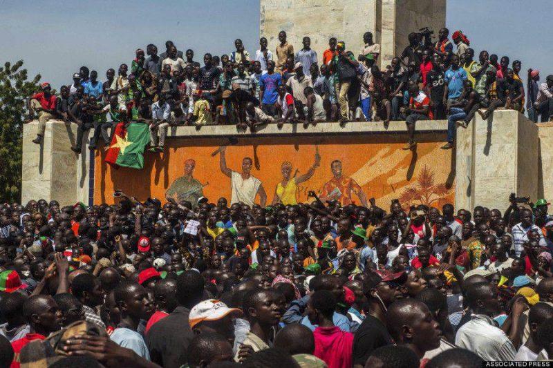 Восстание в Буркина-Фасо