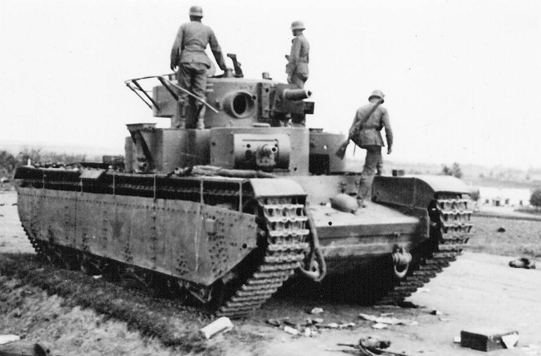 Тяжелый танк Т-35Б