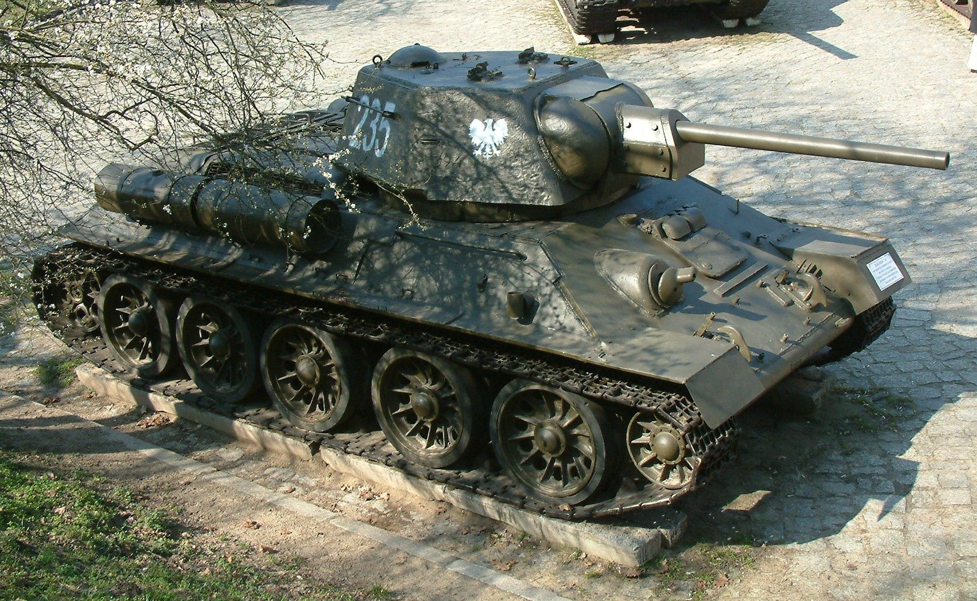 Средний танк Т-34/76А