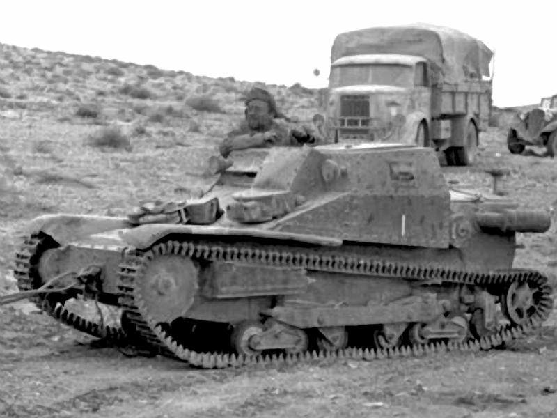 Легкий огнеметный танк L3-35/Lf