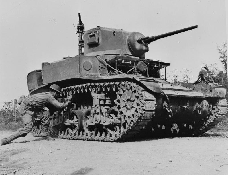 Легкий танк М3 «Стюарт»
