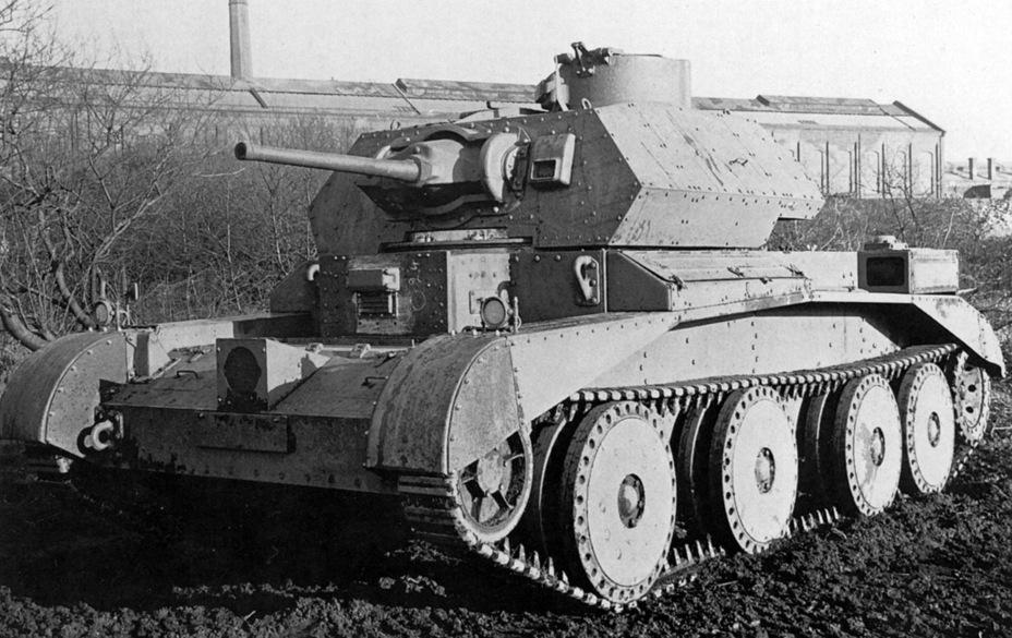 Крейсерский танк Mk IVA