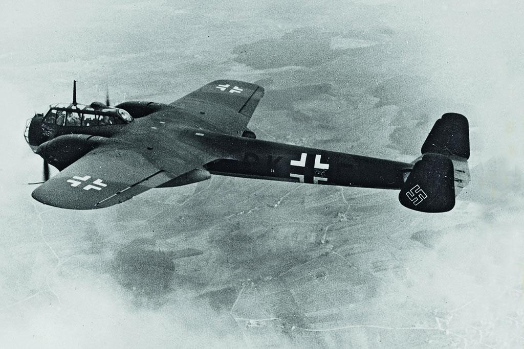 Бомбардировщик Дорнье Do 17Р-1