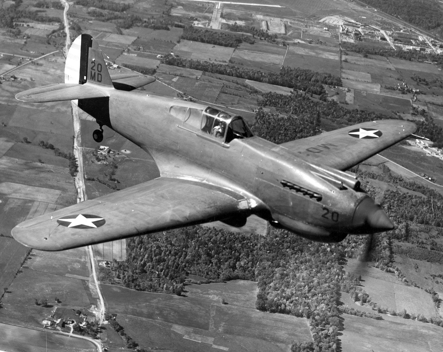 Кертис Р-40 «Вархок»/«Киттихок» - одни из самых массовых истребителей Второй мировой