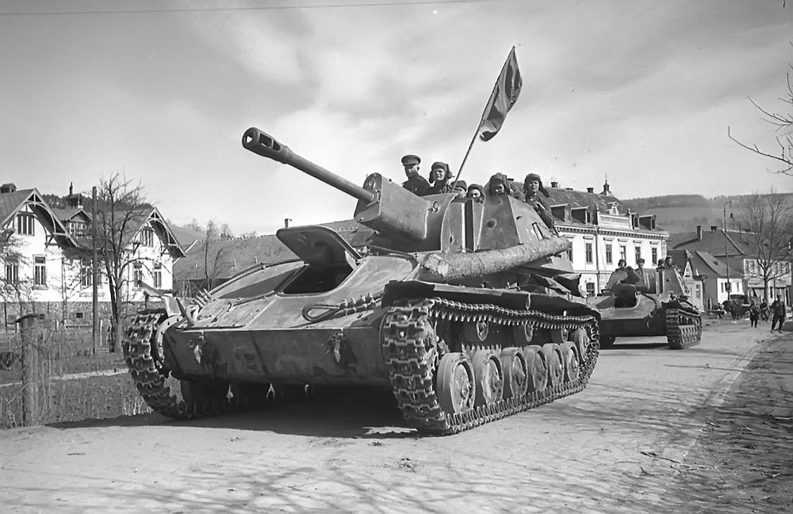 Легкая самоходная артиллерийская установка СУ-76