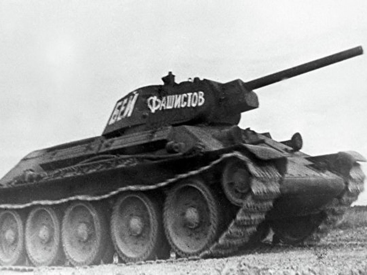 Т-34 - лучший средний танк Второй мировой войны
