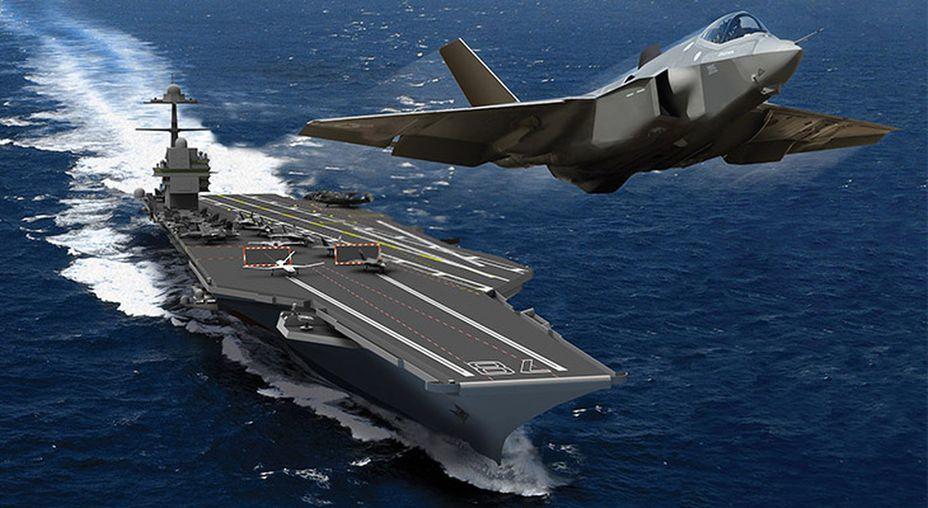 Катапульты и аэрофинишеры - чтобы самолет стал палубным