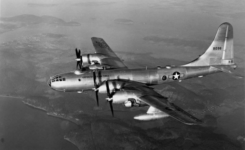 Тяжёлый бомбардировщик дальнего действия Боинг В-29 «Superfortress»