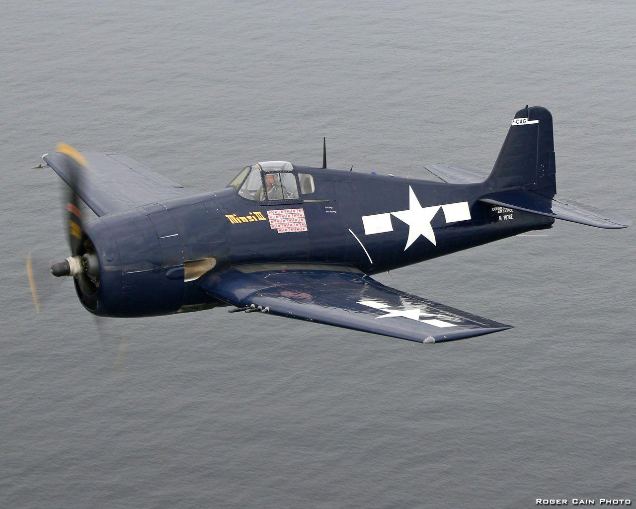 Палубный истребитель Грумман F6F «Хеллкэт»