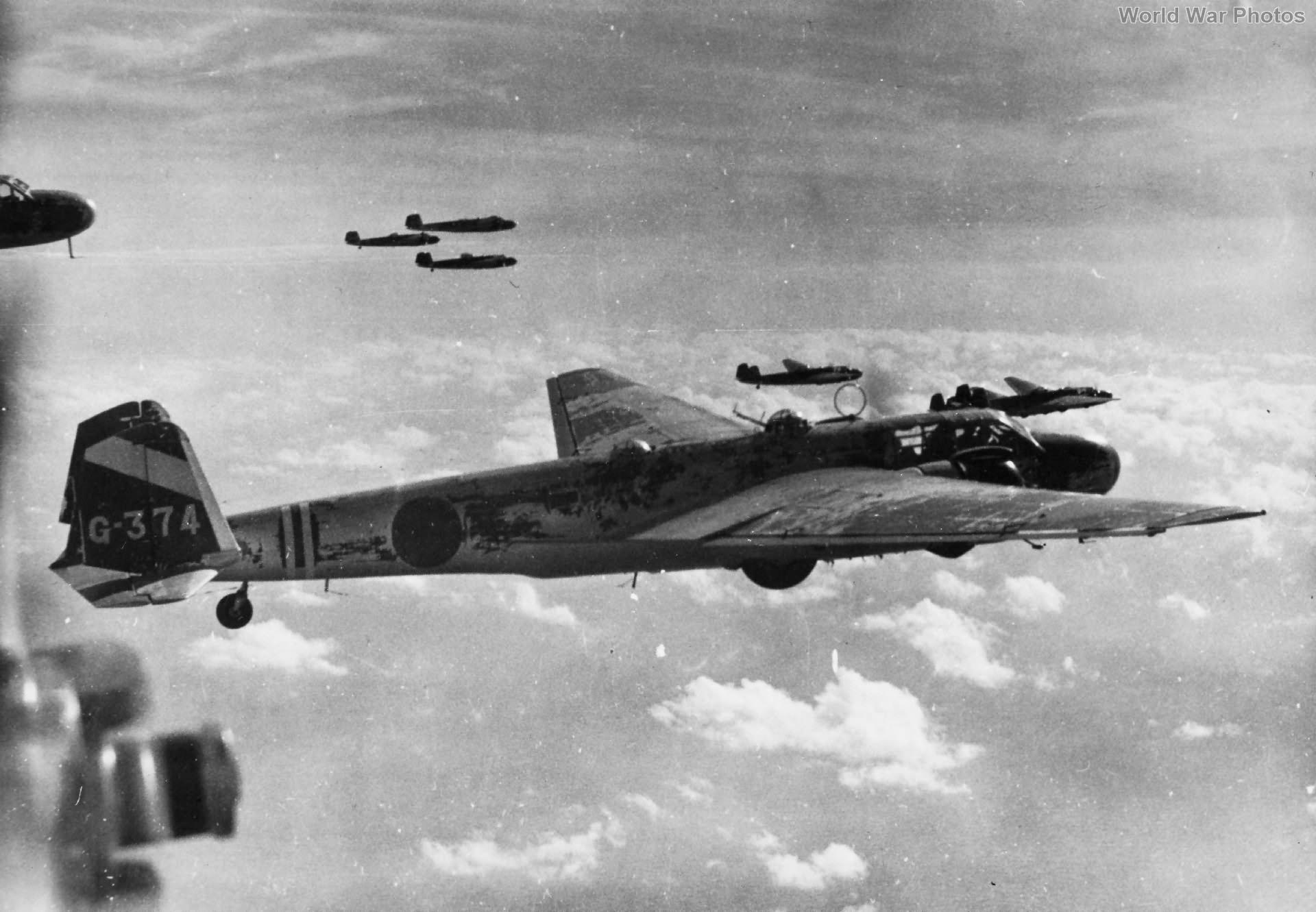 Мицубиси G3M «Нелл» - дальний торпедоносец-бомбардировщик берегового базирования