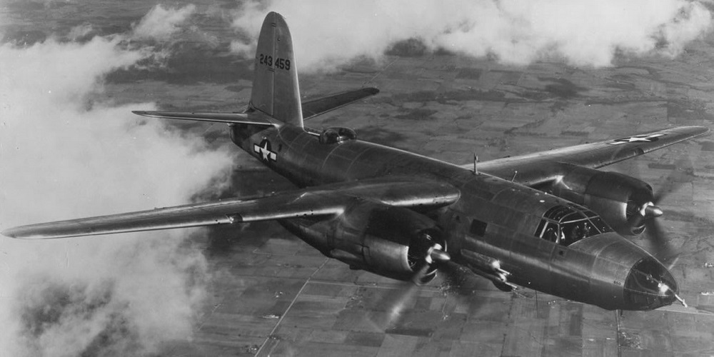 Тактический бомбардировщик Мартин B-26G «Мародер»