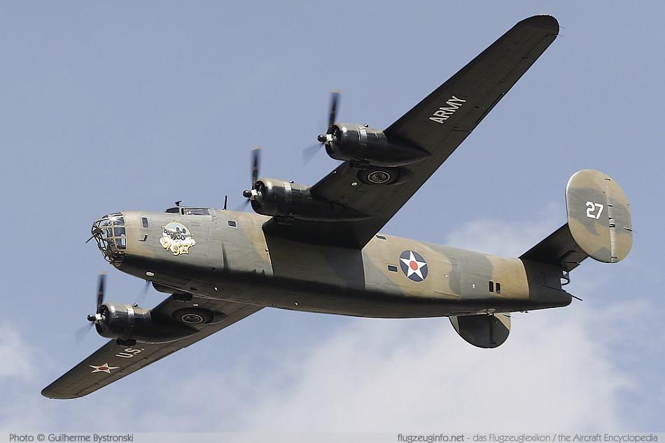 Консолидейтид B-24J «Либерейтор» - самый массовый бомбардировщик в истории авиации