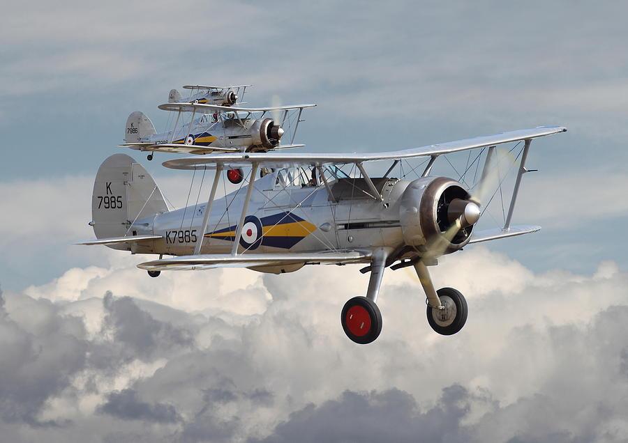 Британский истребитель-биплан Глостер «Гладиатор»